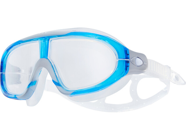 TYR Orion Zwemmasker, clear/blue/grey